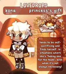[lovedrops] kona