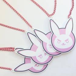 D.va Bunny Necklace by xNerdbombx