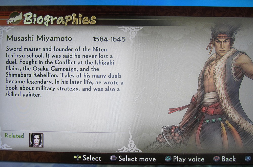 a biography of miyamoto musashi a warrior What are the names of miyamoto musashi's swords update cancel answer wiki 6 answers to add to the other two answers, musashi himself cautioned the warrior against becoming too attached to his weapon, lest he become dispirited if it were lost or broken.
