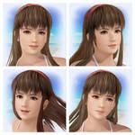 DOAX3 Hitomi Faces