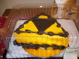 Triforce Cake by Mate-of-Bardock