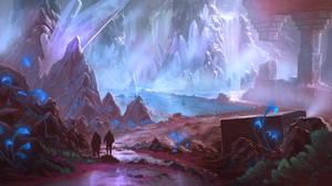 Icecavern by wwsketch