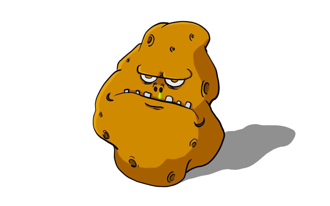 Grumpy Potato by thejumpboy