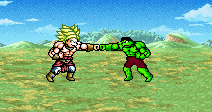 Hulk vs Broly by SSJsupreme