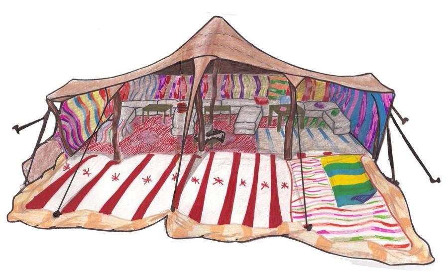 Bedouin Tent by TheNovelGinger ...  sc 1 st  TheNovelGinger - DeviantArt & Bedouin Tent by TheNovelGinger on DeviantArt