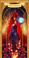 Pandora Hearts Tarot - The Hermit(Leo Baskerville)