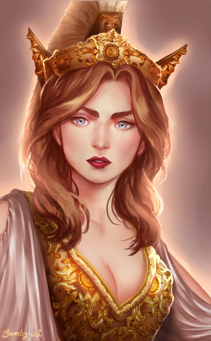 ATHENA by Bambz-Art