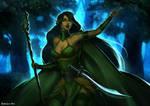 Commission - Moon Druid