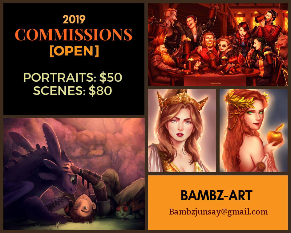 2019 COMMISSIONS [OPEN]