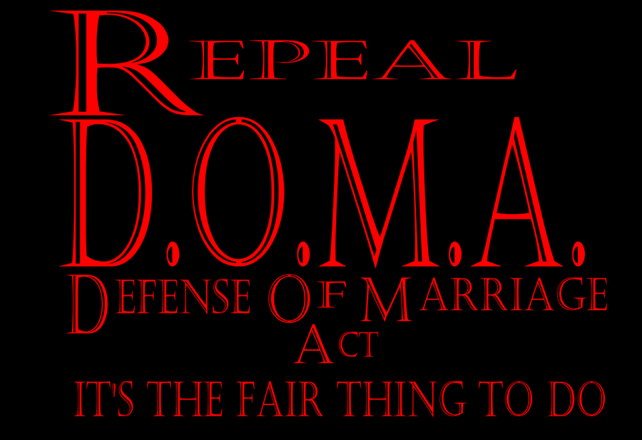 repeal doma by Furrymuscle