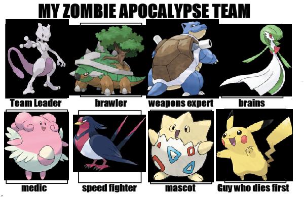 Pokemon Zombie Team By Jd Swindler On DeviantArt