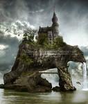Castle on the bear island