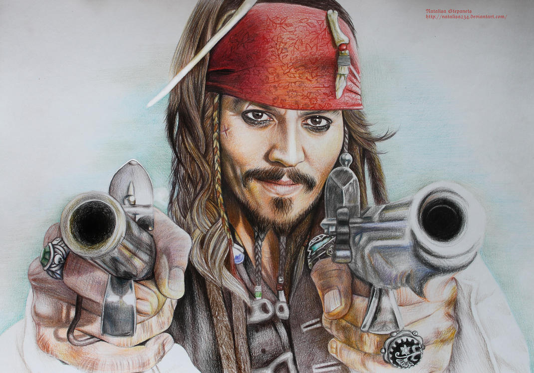 Jack Sparrow (completed) by Natalisa234