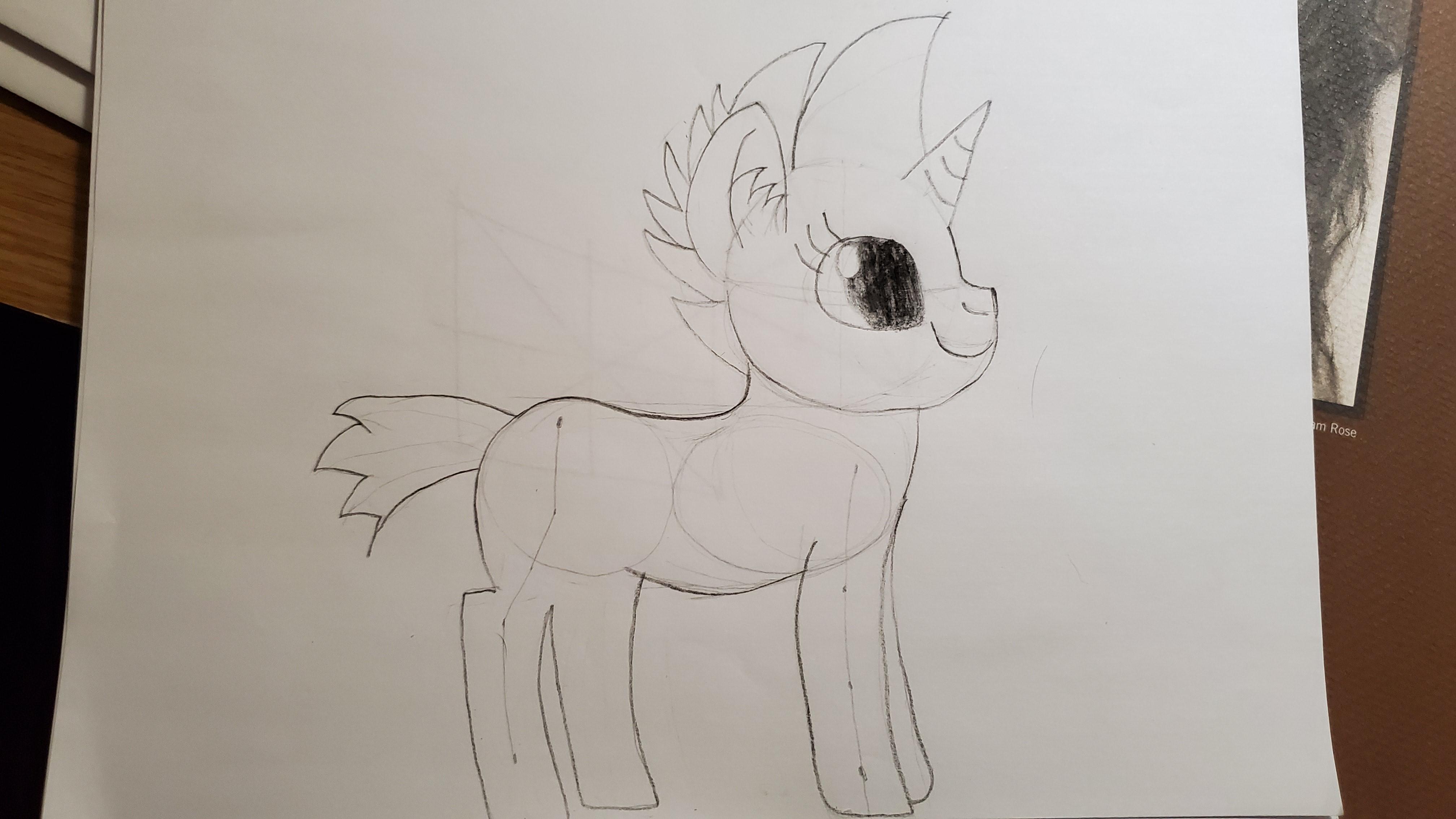 My First Pony Sketch