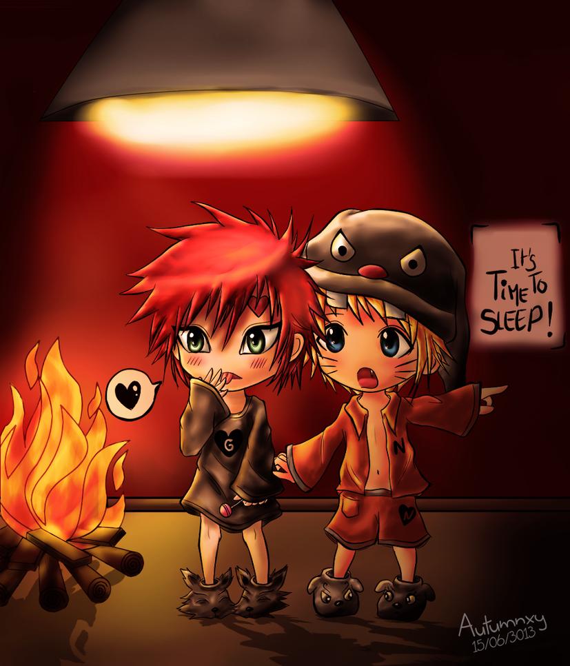 Chibi Gaara and Naruto by Autumnxy on DeviantArt Gaara And Naruto Chibi