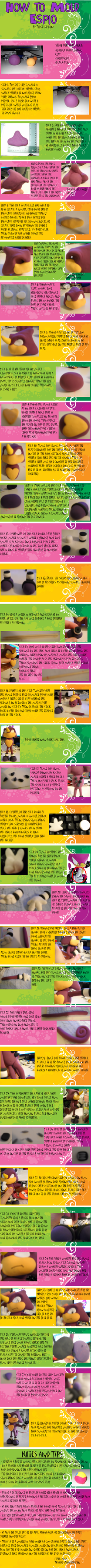 "How to Make Espio ""Clay"" by Torgetsu-Kon"