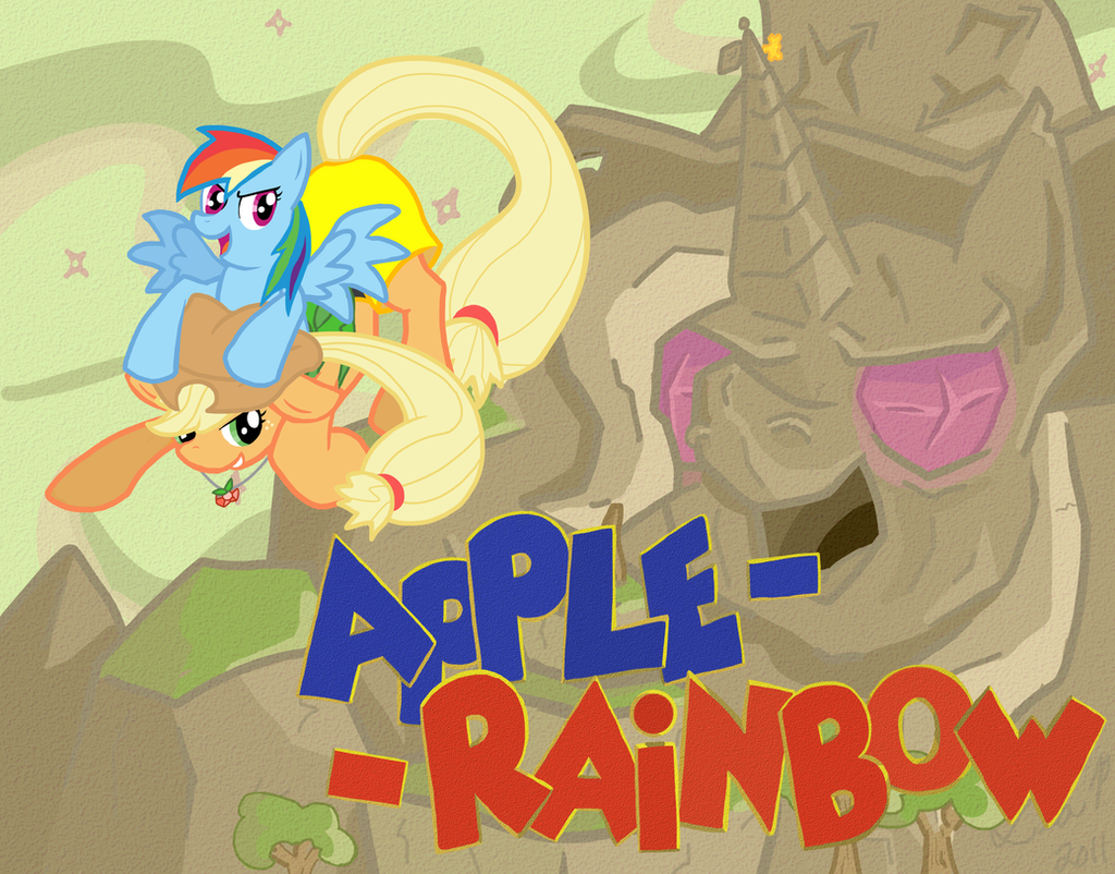 Apple-Rainbow by Torgetsu-Kon