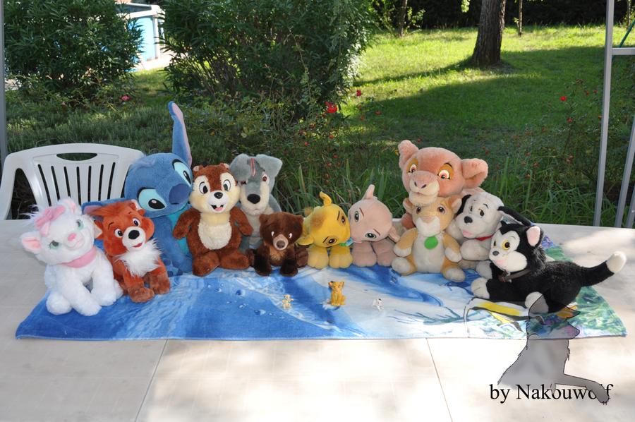 My Disney family :P by Nakouwolf