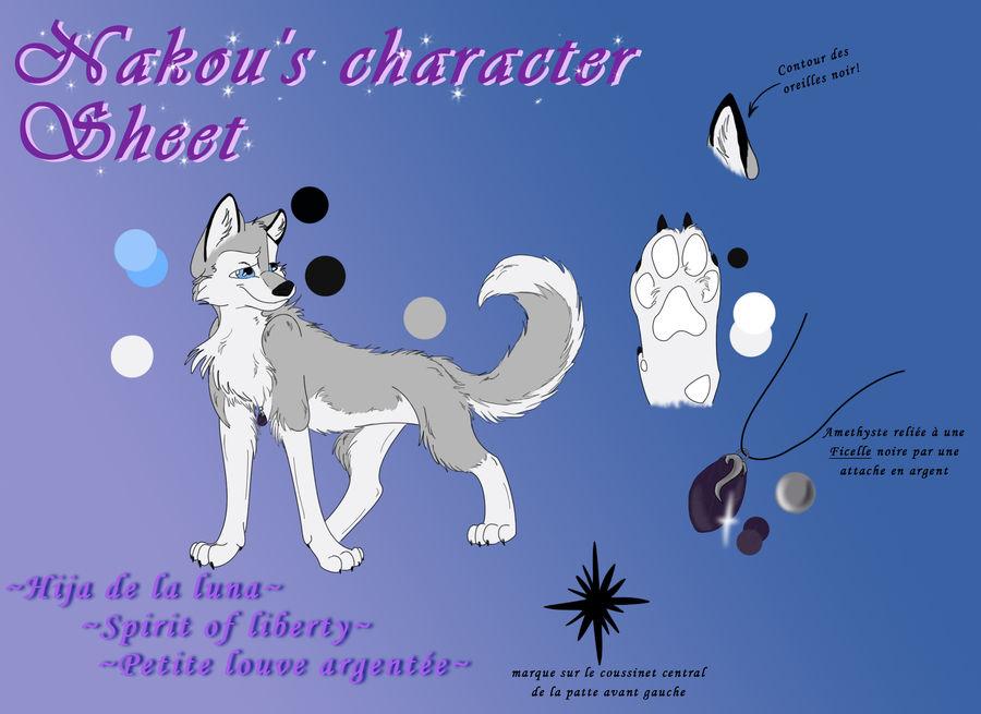 Character sheet - Nakou