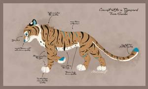 Commission Naturama - Jurobi - Tigerpard concept