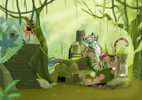 Naturama Commission - Jurobi - The Lost Temple by Nakouwolf