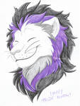 Happy Pride Month Lion