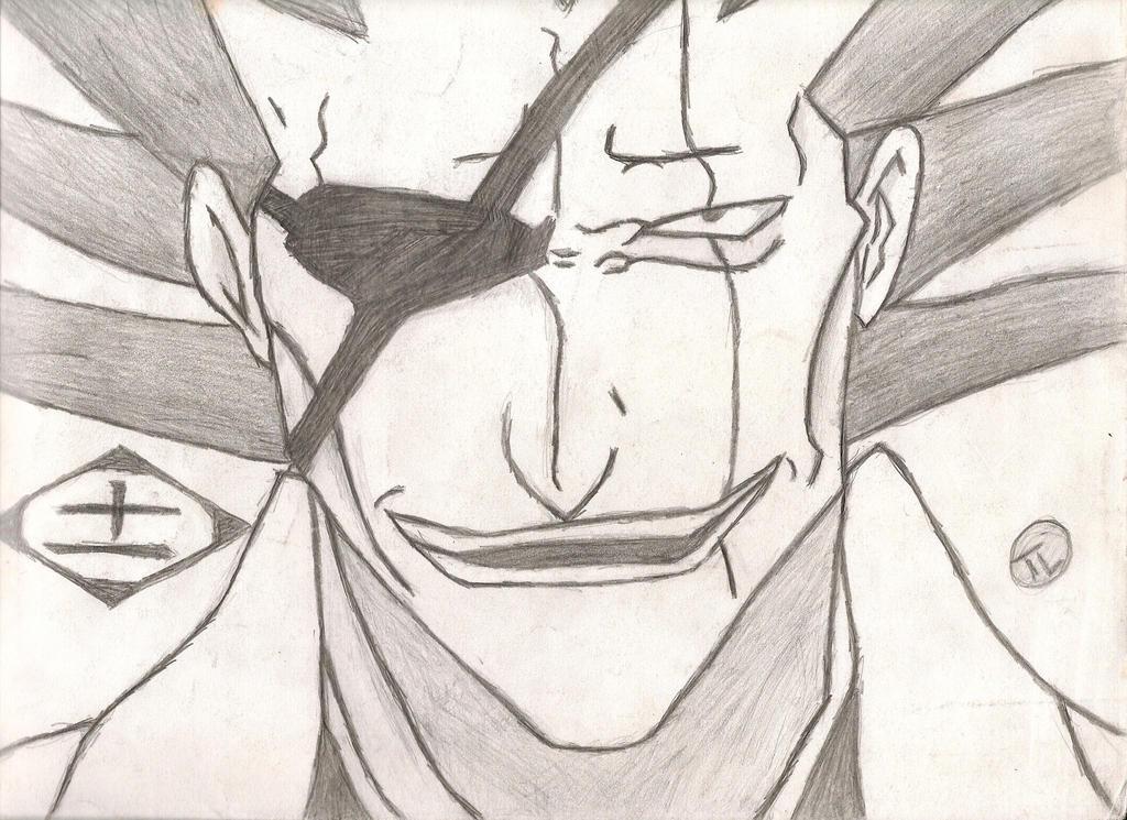 Kenpachi Zaraki Drawing By IamCourier