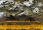 Field monster by Zlata666