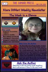 Newsletter Vol 1 by KiaraDiMari