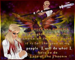 Eudorian Chronicles: Emberana Phoenix by KiaraDiMari