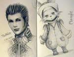 Sketches - Final Fantasy XII