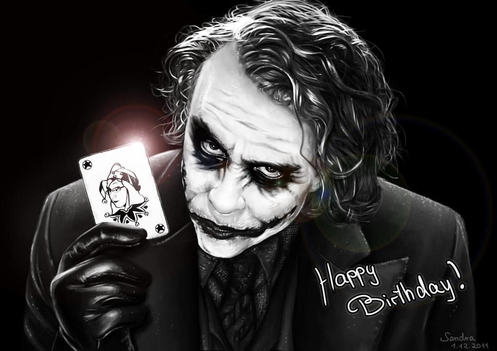 Joker Portrait Birthday Present By Sadako Xd On Deviantart