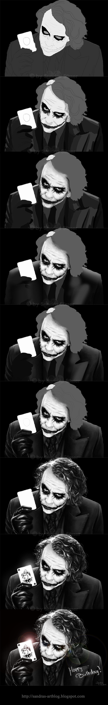 The Joker - WIP by Sadako-xD