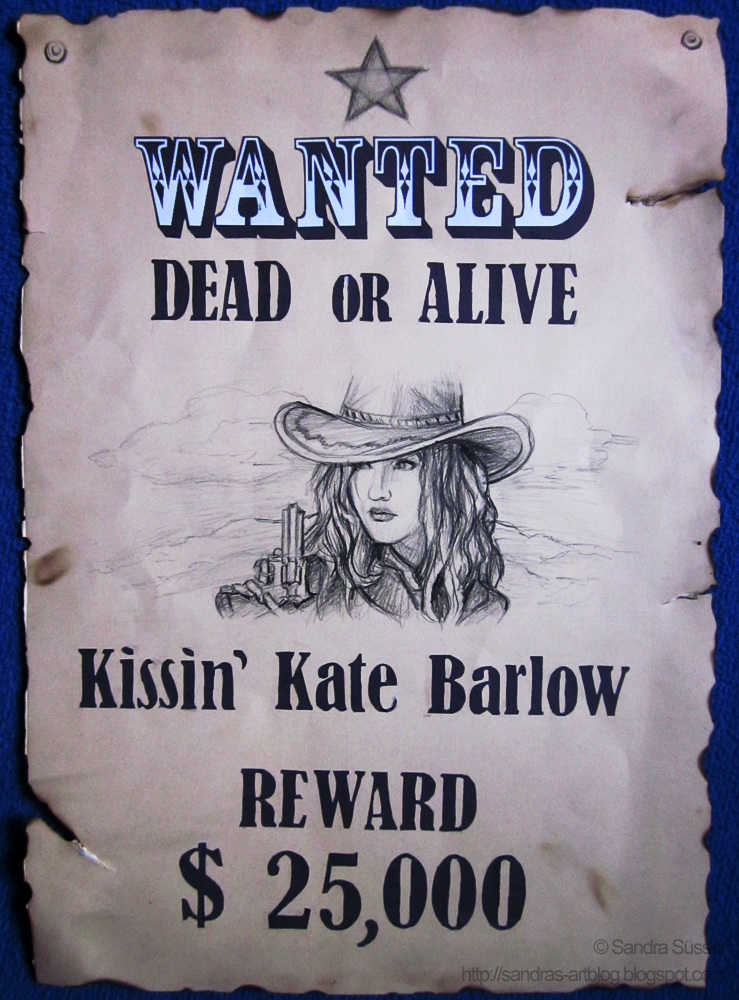 Wanted Poster by Sadako-xD on DeviantArt