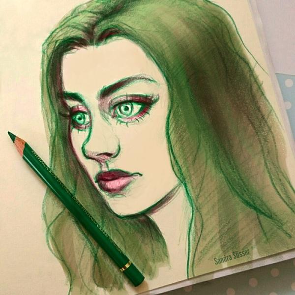 Sketchbook Girl (80) by Sadako-xD