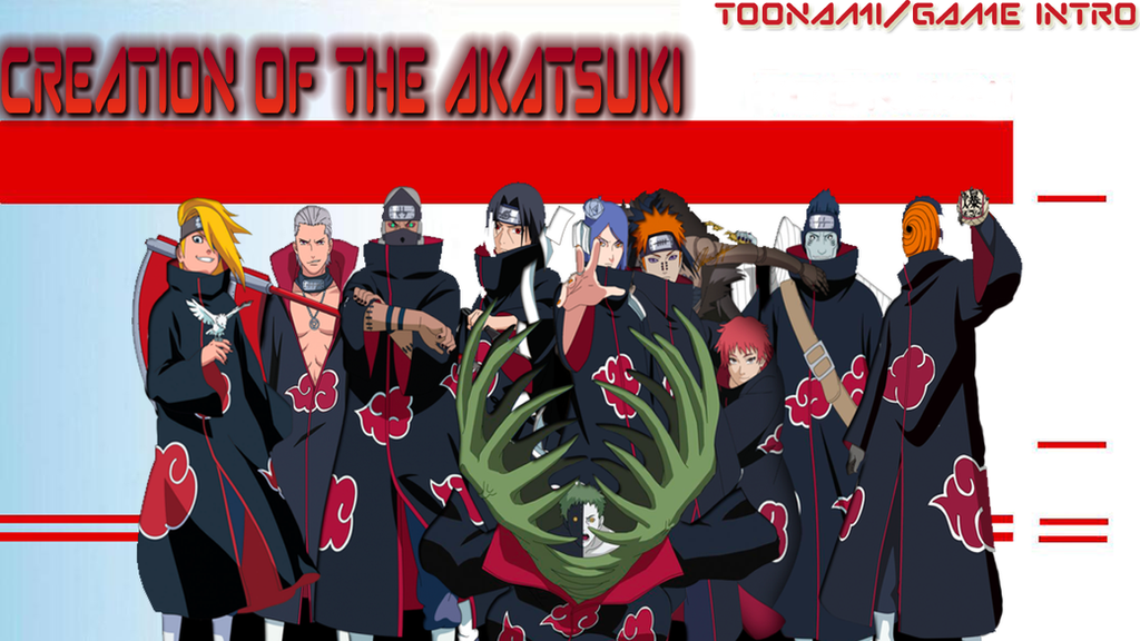 Creation of the Akatsuki thumbnail by kgifted91