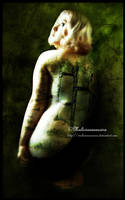 Alicia the vegetable girl by MaliciaRoseNoire