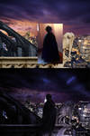 Batman - Alone in the dark - before-After