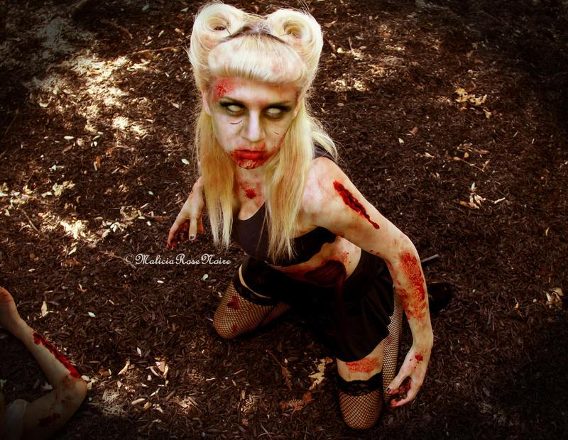 Zombie by MaliciaRoseNoire