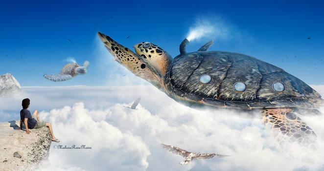 The flight of turtles