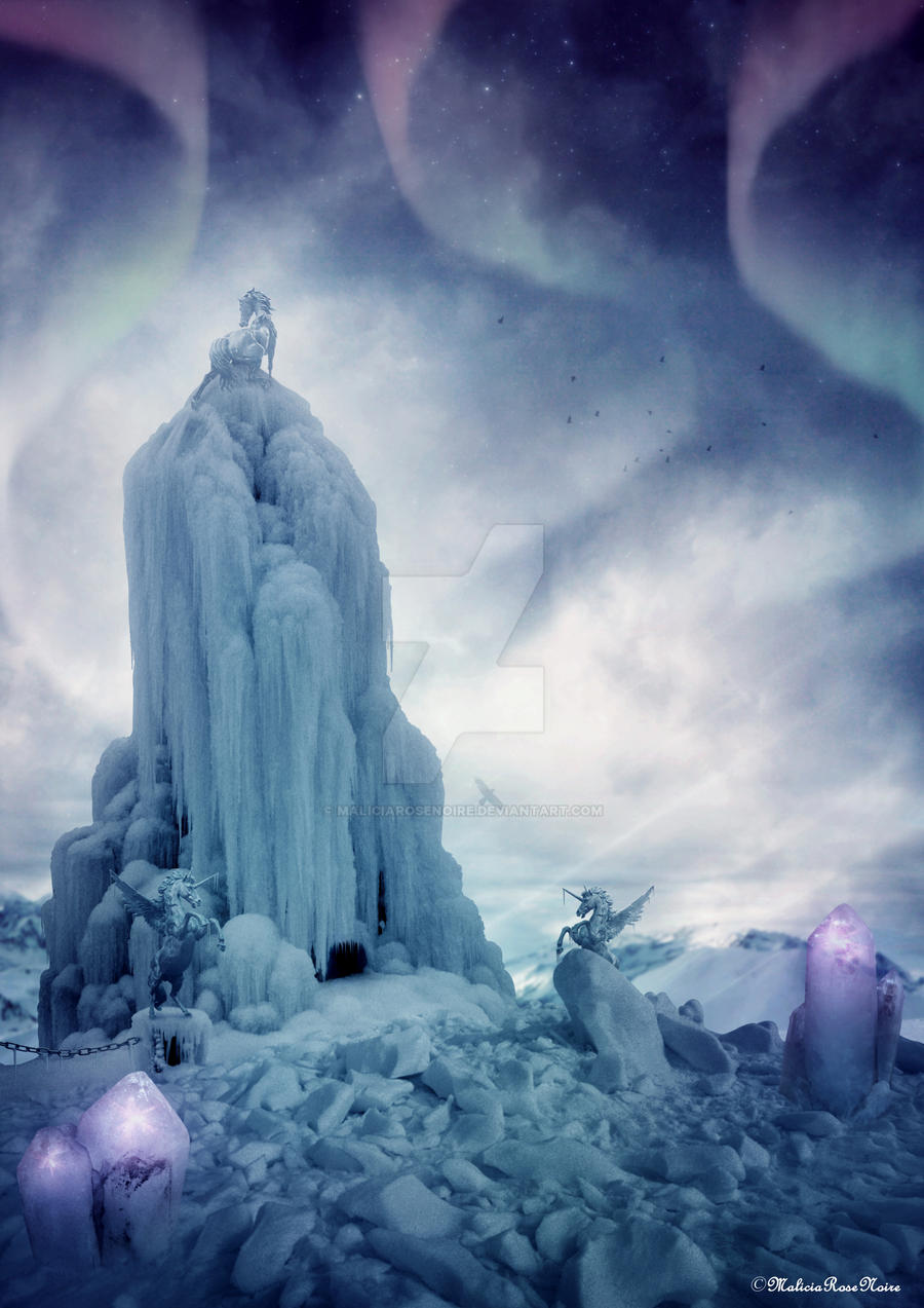 Temple of ice by MaliciaRoseNoire