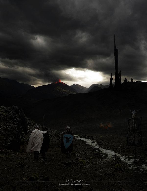 Le campement by MaliciaRoseNoire