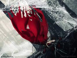 The trap of spider by MaliciaRoseNoire