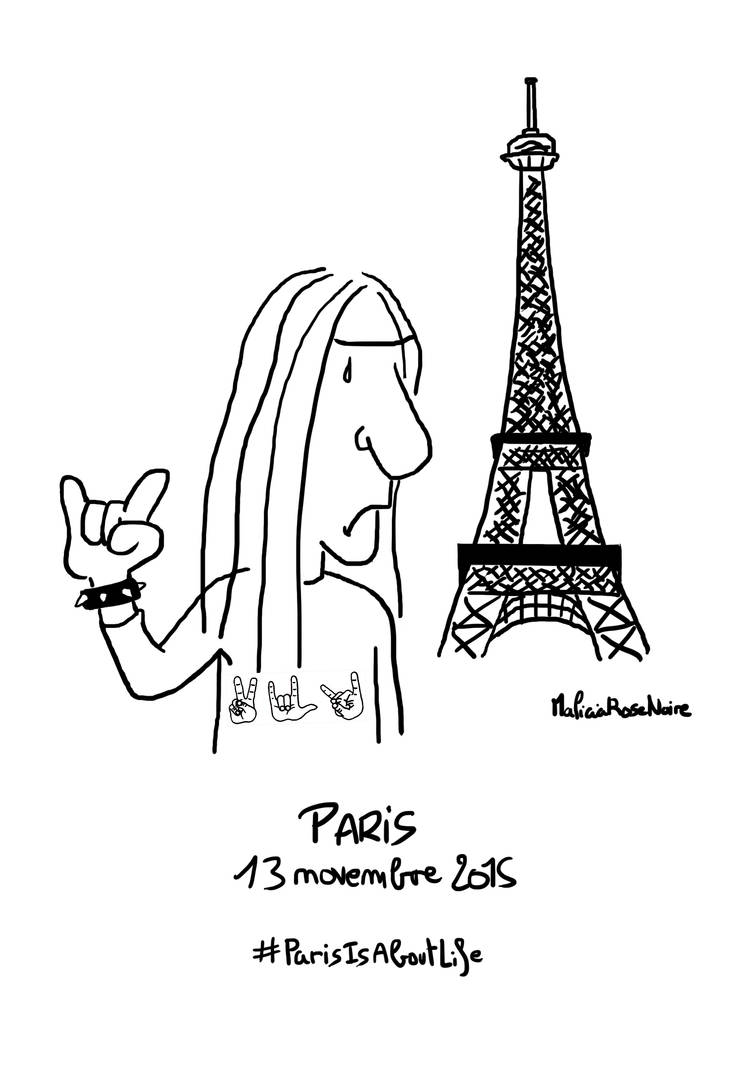 Paris Is About Life by MaliciaRoseNoire