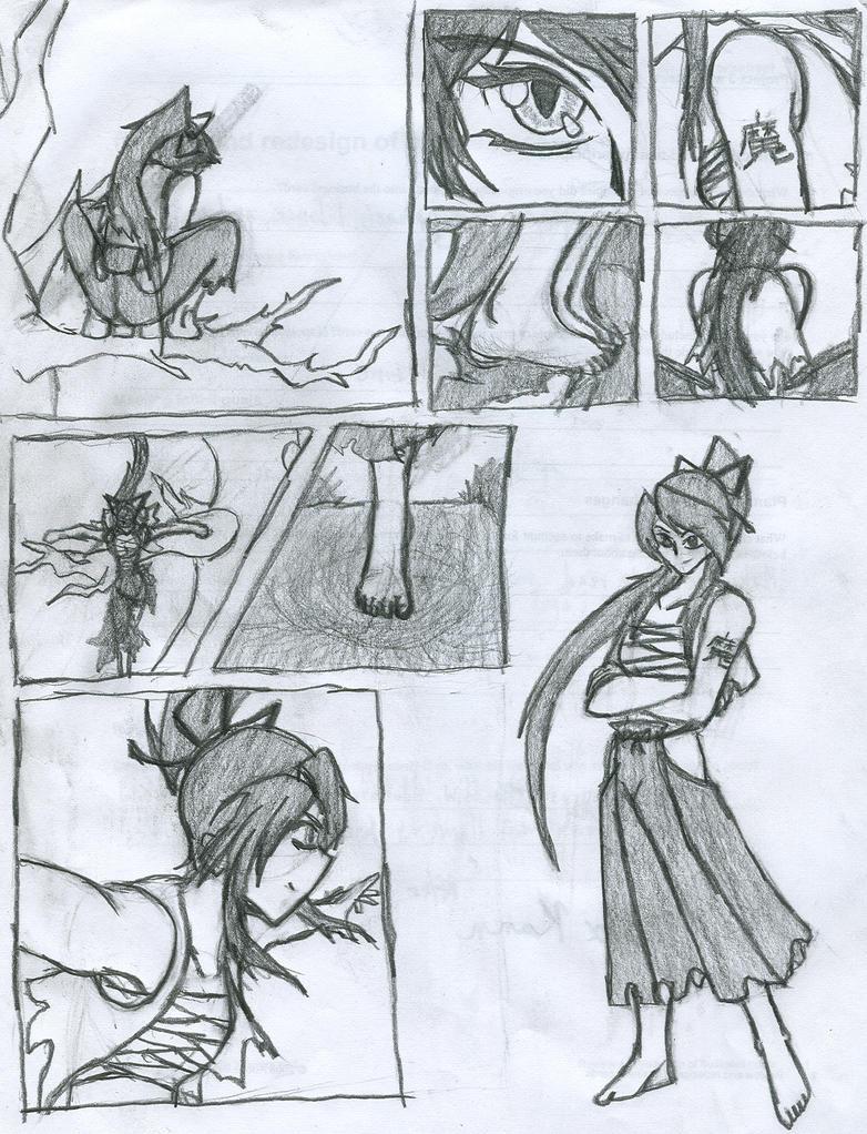 Comic: Wolf Girl Mikiko By Xeranad Drawing Tutorial: How