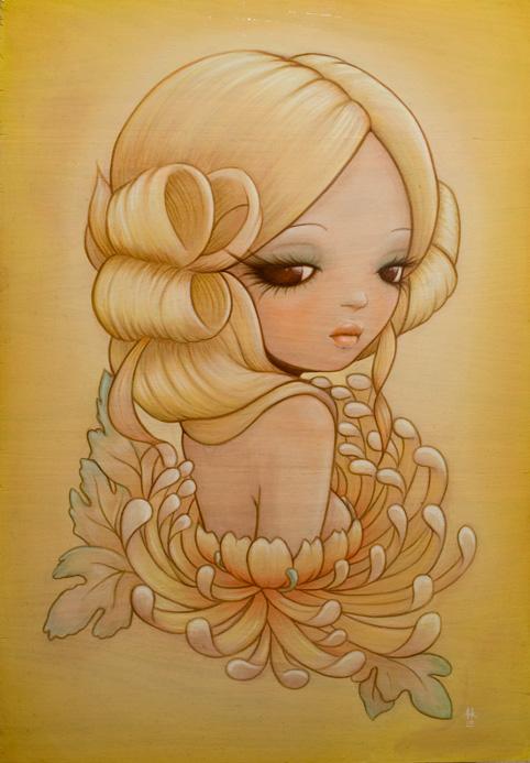 Golden Flower by Anarkitty1
