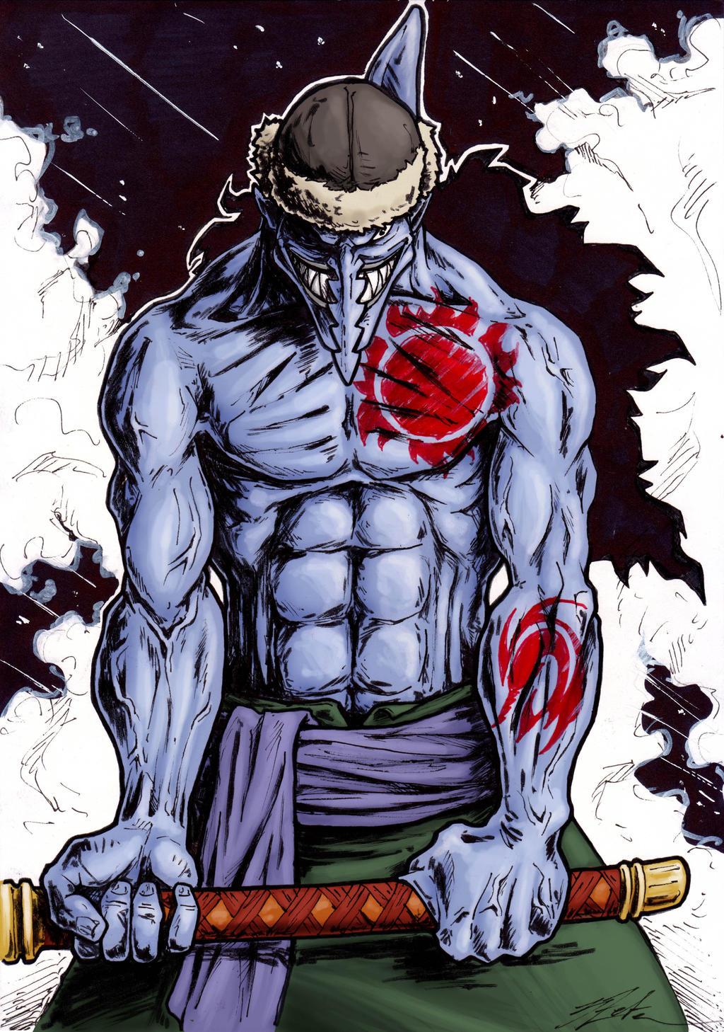 Sehr Arlong - One Piece fanart by 3Zeta on DeviantArt ZT01