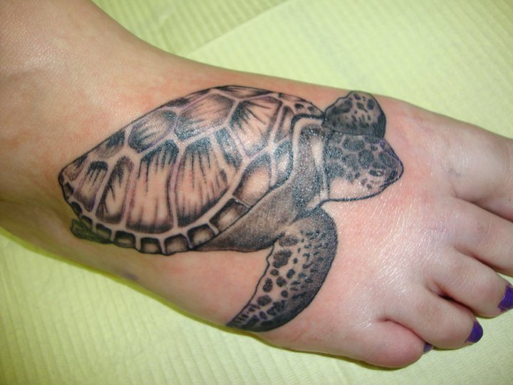 Sea turtle tattoo by bittersuite on deviantart for Turtle tattoos meaning