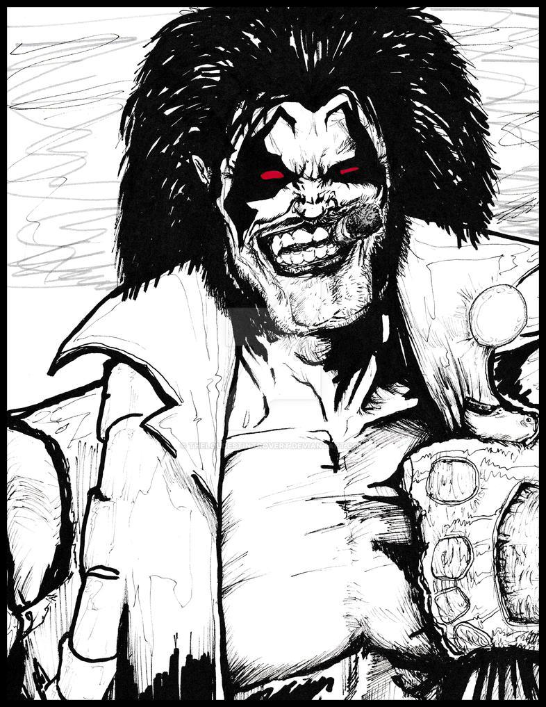 Lobo Fan Art by TheLoudestIntrovert
