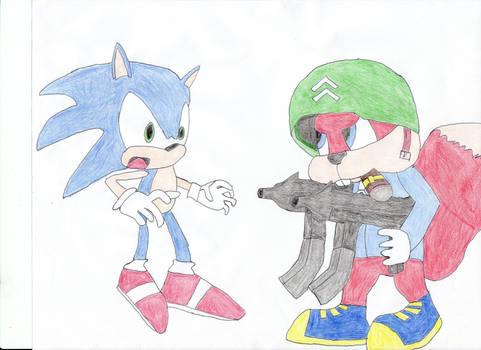 Sonic vs Conker